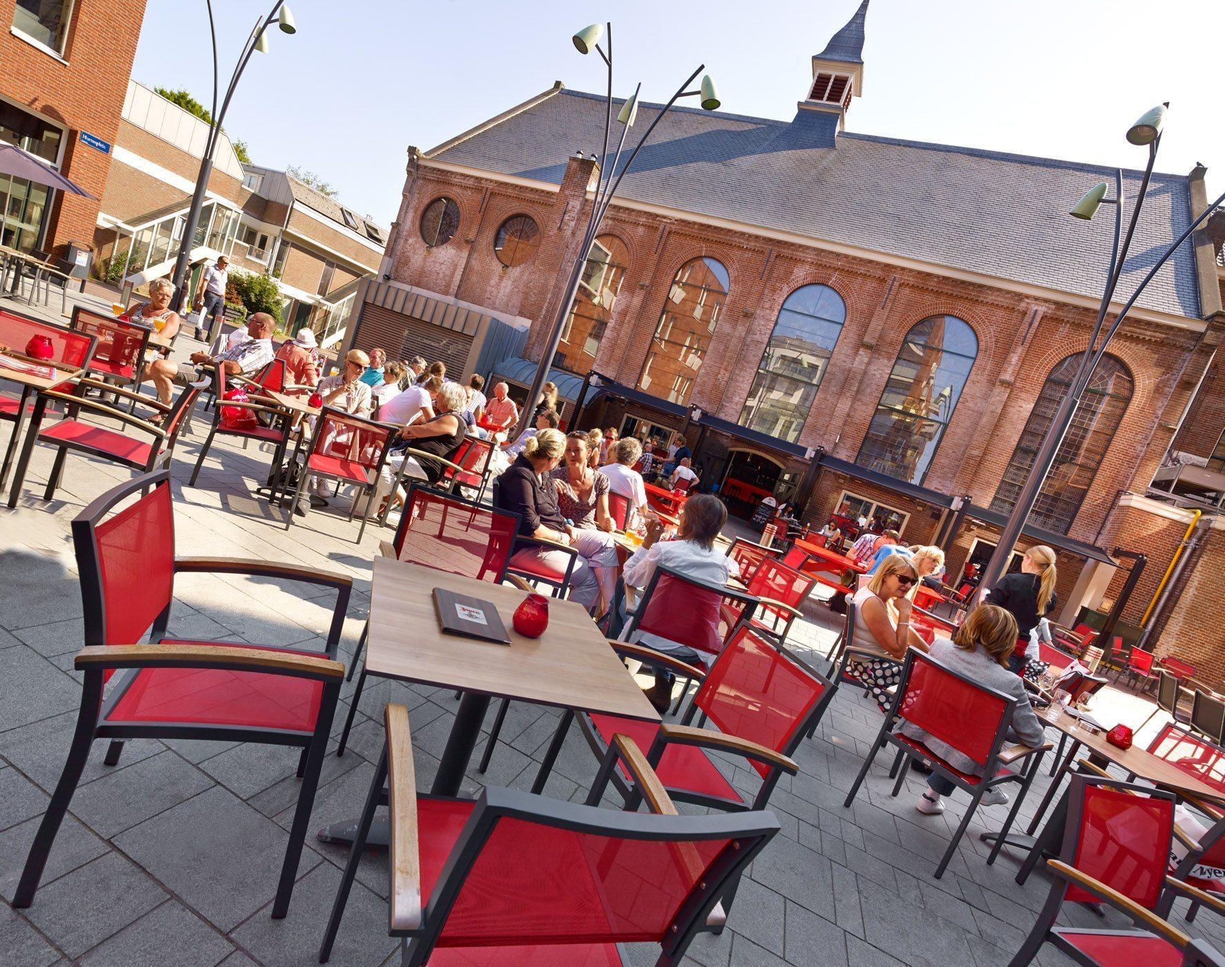 Foto 39 s jopenkerk haarlem - Buitenkant terras design ...