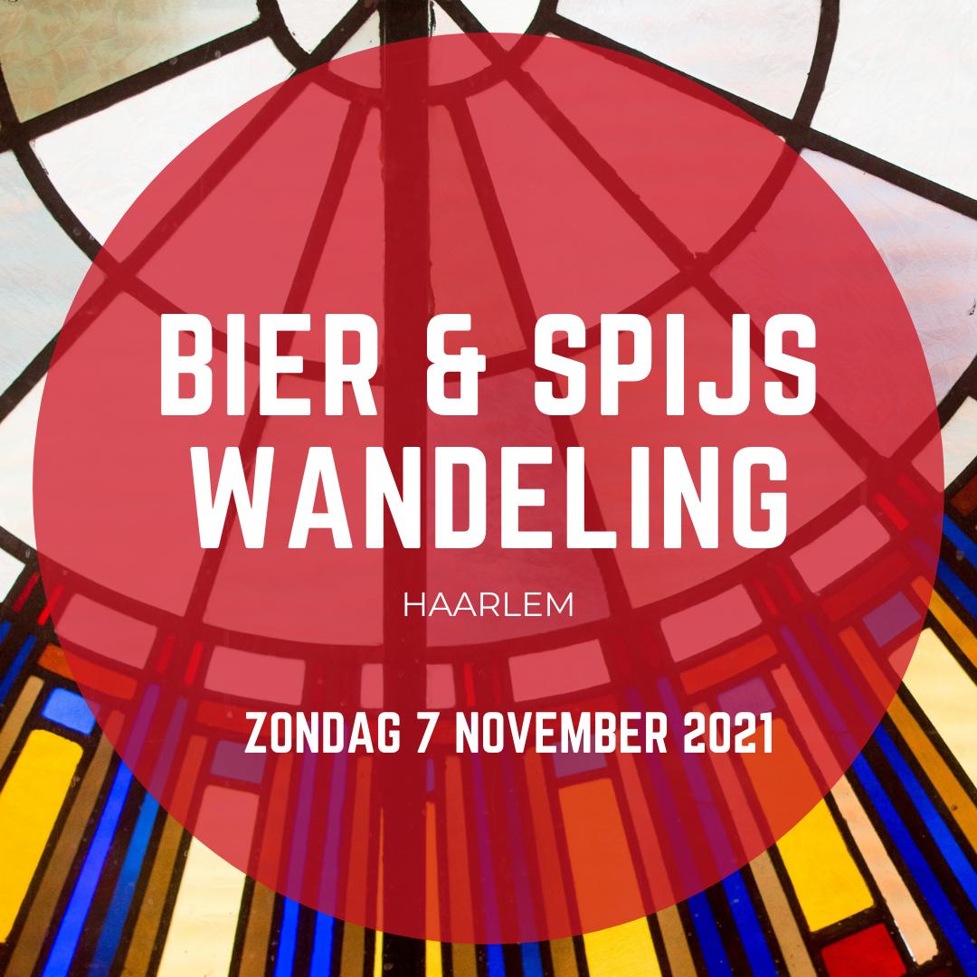 Bier Spijs wandeling 7 november